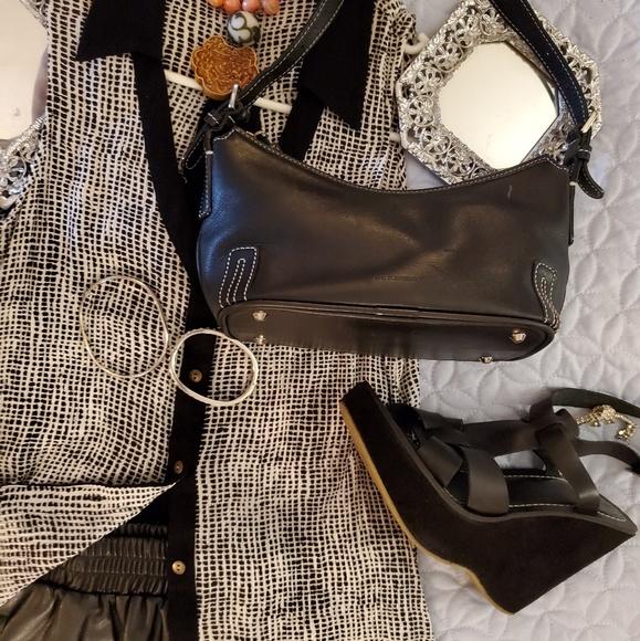 Burberry Handbags - 4pc. Burberry bag, shoes,top and skirt